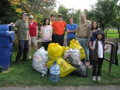 Fall Park Cleanup