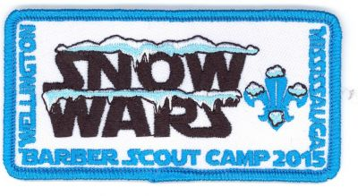 Snow Wars scout camp 2015