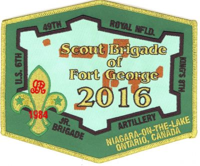 Scout Brigade of Fort George 2016